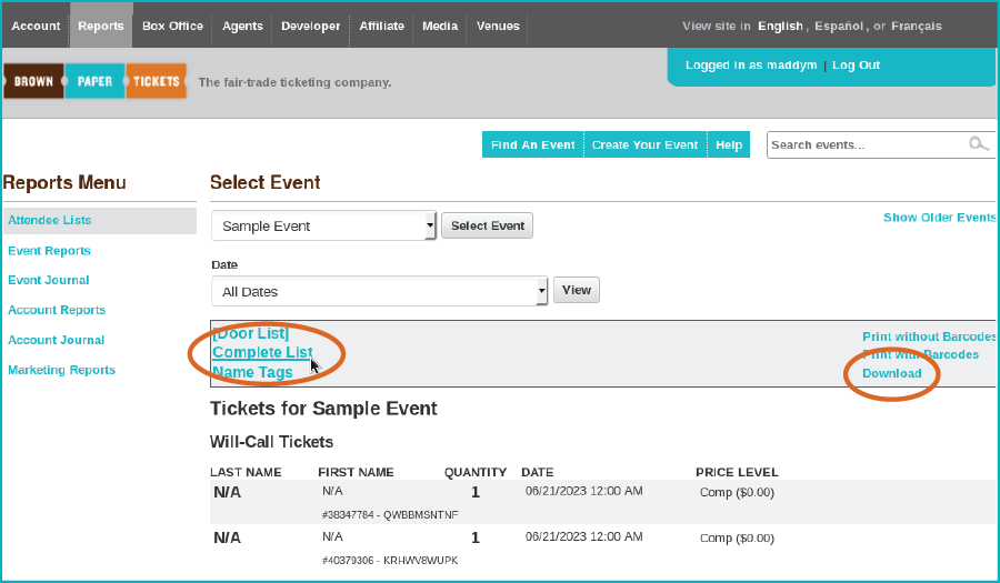brown paper tickets login What are users saying about brown paper tickets read real brown paper  tickets reviews, pricing information and what features it offers.